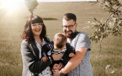 Familienzeit mit Claudett und Pascal