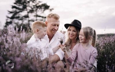 Familie Denzer in der Mehlinger Heide