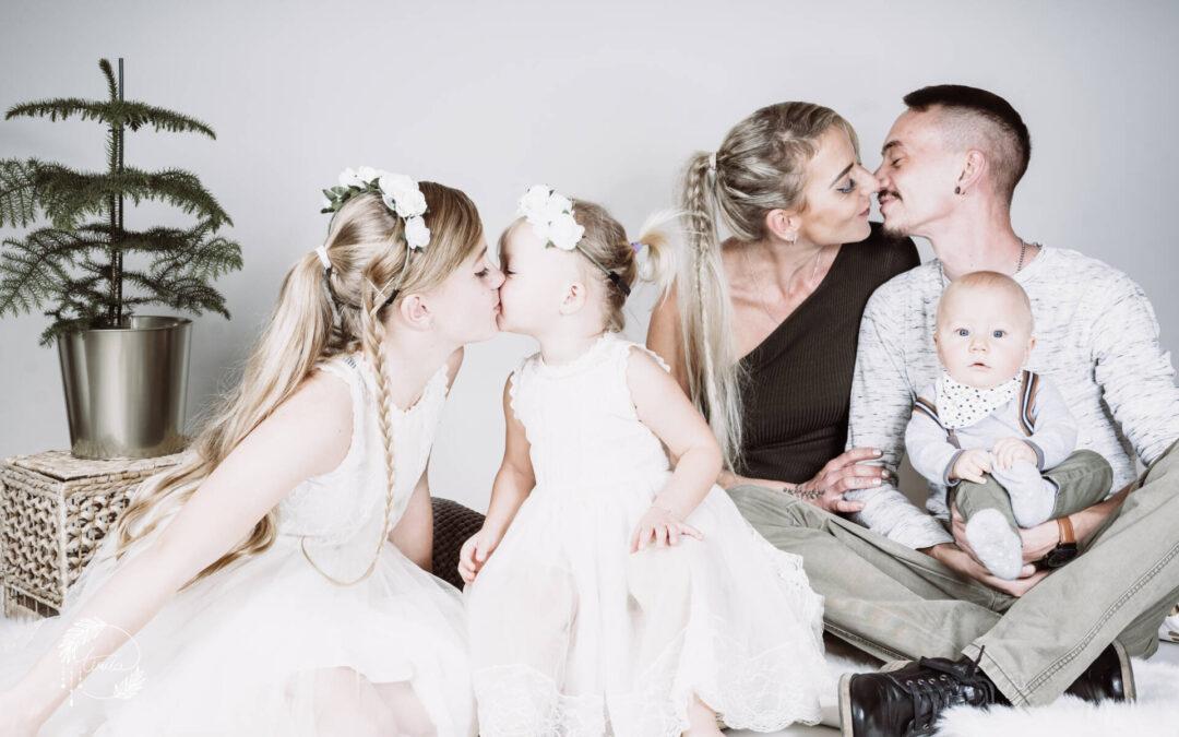 Familien-Studioshooting